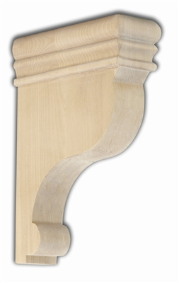Shaped birch countertop support remodel market
